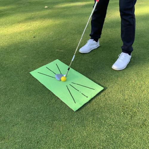 Golf Training Mat for Swing Detection Batting