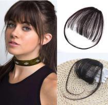 Clip in Human Hair Bangs Extensions