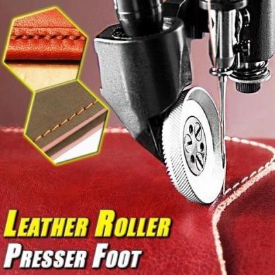 LEATHER ROLLER PRESSER FOOT