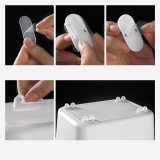 Creative Adhesive Movable DIY Storage Box One-Way Pulley