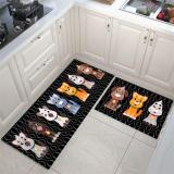 Kitchen printed non-slip carpet