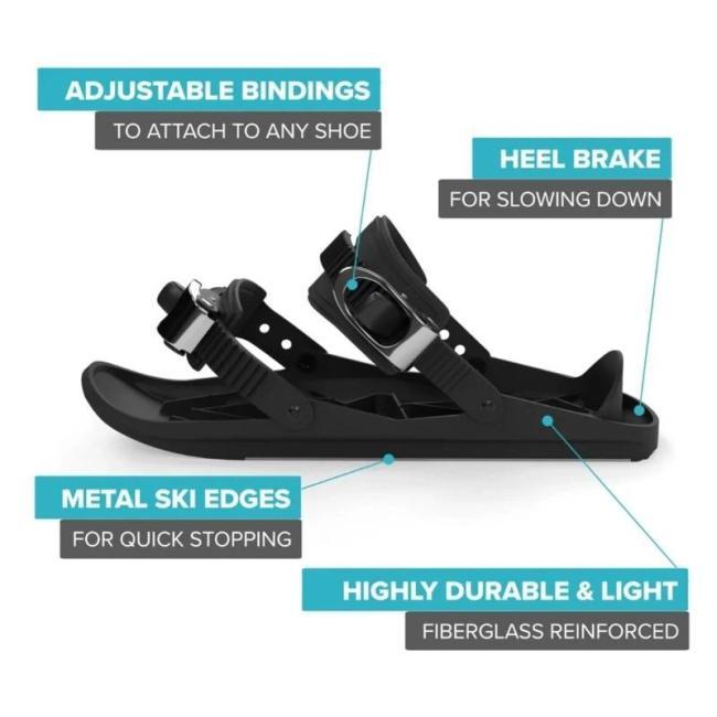 Mini Ski Skates