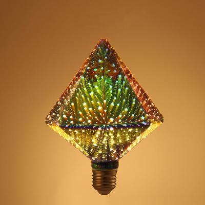 3D colorful firework lights