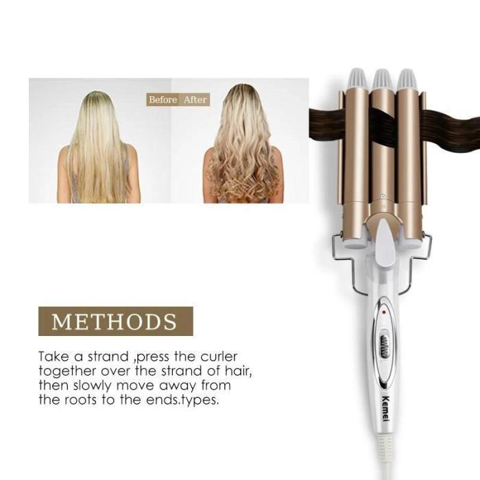 CERAMIC HAIR CURLING