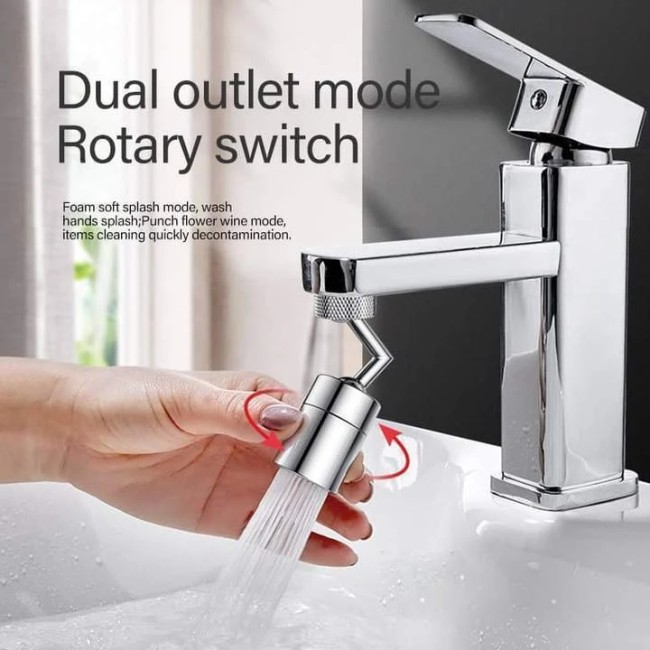 Faucet With A Spray Filter