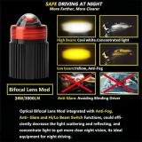 Motorcycle&Car LED Driving Lights