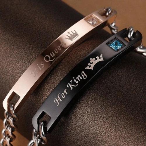 Her King His Queen Bracelets