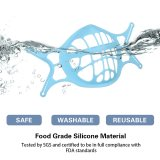 2021 seventh generation upgraded silicone 3D mask holder