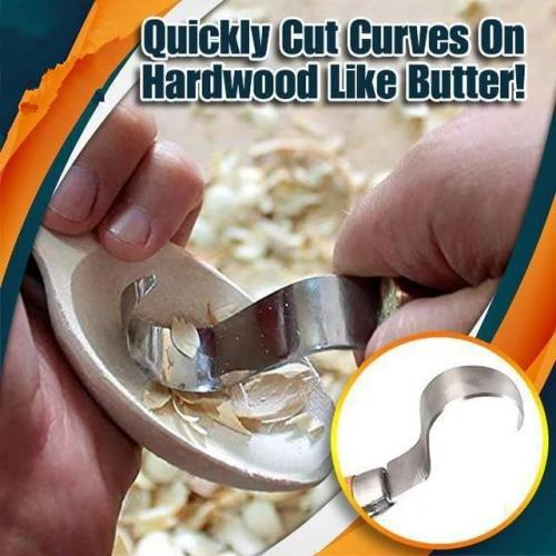 DIY Hand Chisel Wood Carving Tool FastCraft Curve Carving Knife