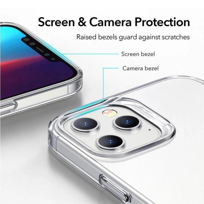 Kickstand Vertical Transparent Phone Case