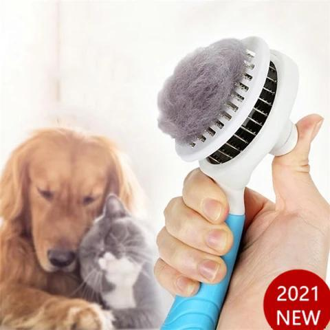 Automatic Brushs for Dogs Cats Grooming Comb