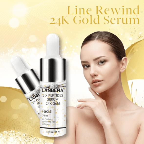 Line Rewind 24K Gold Serum