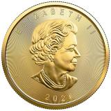 2020 & 2015 Canada $5 1/10-oz Gold Maple Leaf BU