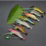 Lifelike Luminous Shrimp Lures 7pcs Set