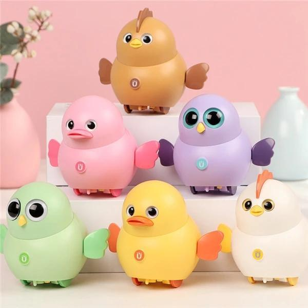 Cute Electric Swing Magnetic Chick Toy