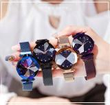 Starry Sky Magnetic Buckle Watch - elegant and stylish