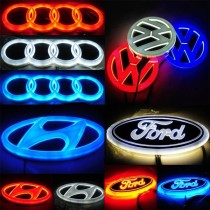 🚗4D Car Logo Badge LED Light✨