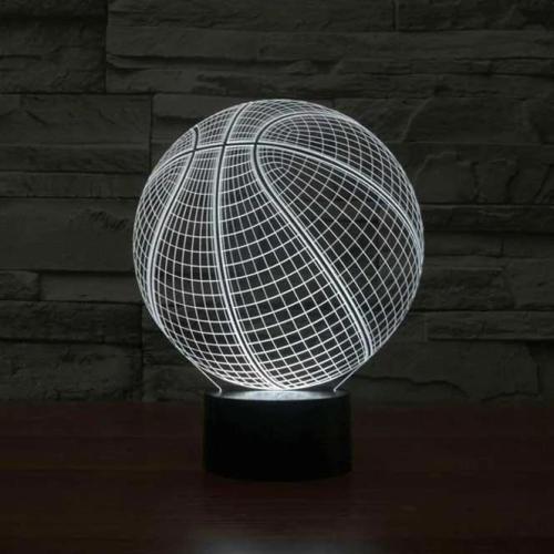 SPORT STYLE 3D ILLUSION LAMP