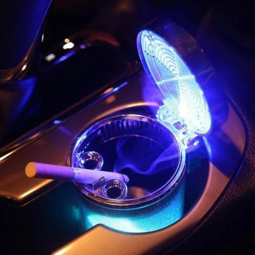 Colorful LED Car Ashtray