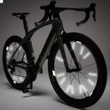 Bicycle Wheel Spoke Reflector (12Pcs/Pack)