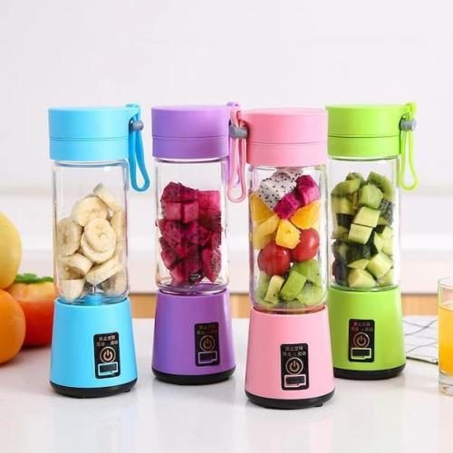 Portable Electric Juice Cup Multifunctional Mini Juicer USB Blender