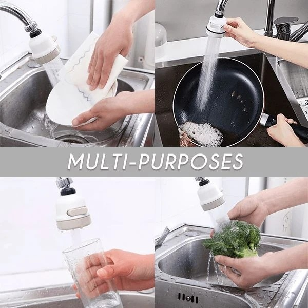 Home faucet booster shower
