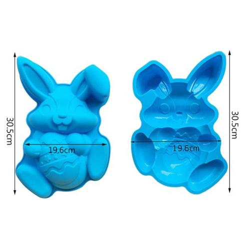 Easter Bunny And Egg Chocolate Mold
