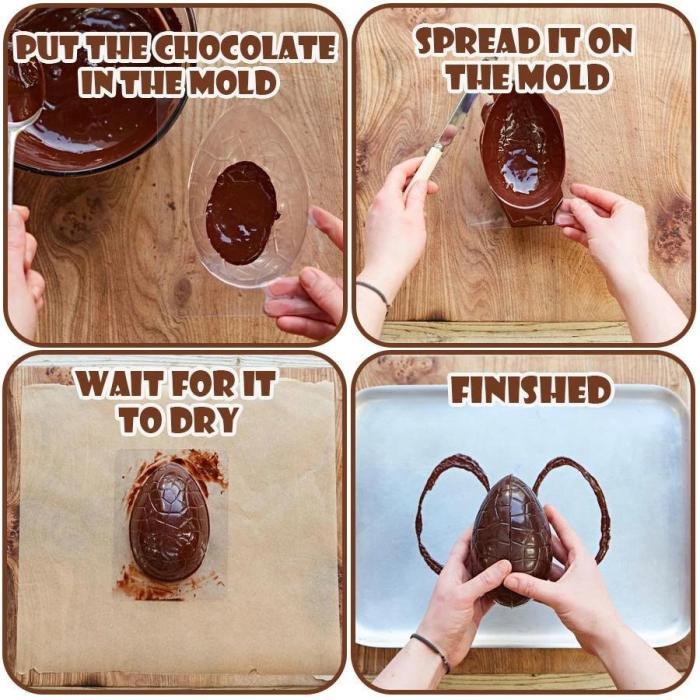 Easter Egg Chocolate Mold