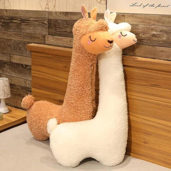 Fluffy Alpaca Plush Toy