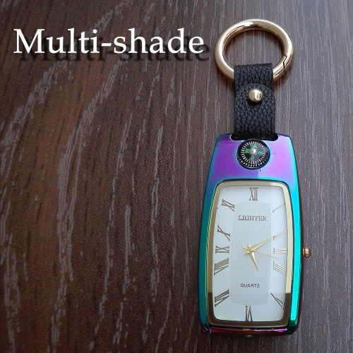 Watch Lighter With Torch, Compass & Keychain