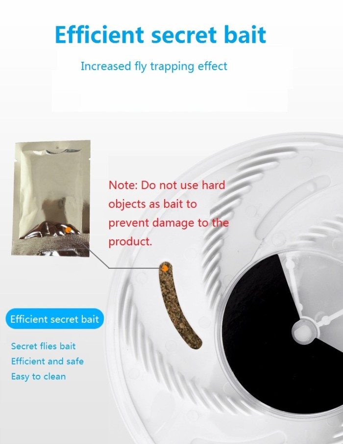 🔥Spring Special 50% OFF-Revolving Electronic Fly Trap