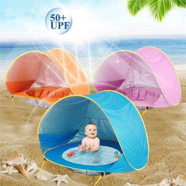 Portable SunShade Pool Tent