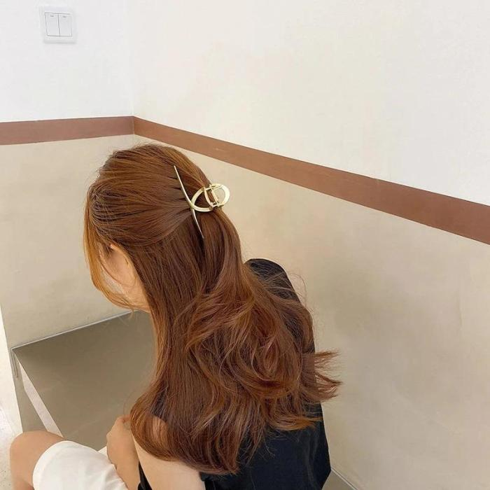 Simple Headdress Metal Hairpin