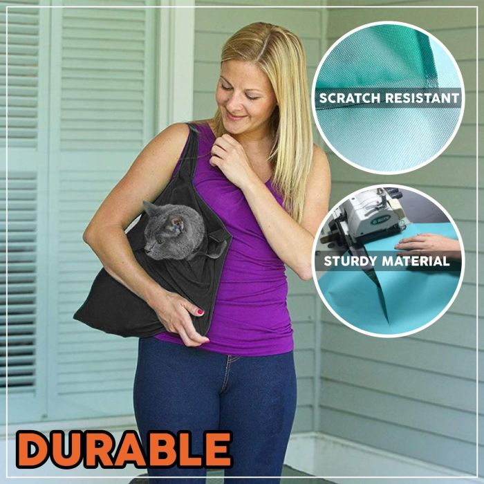 Outdoor Solid Cat Carrier Pouch