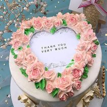 3D Chocolate Rose Wreath Cake Mold-Perfect Mother's Day Gift