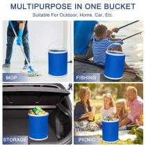 Multifunctional Portable Folding Bucket