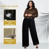 Women's Ice Silk Wide Leg Pants