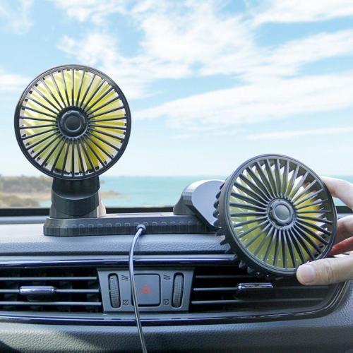 Universal Adjustable Car USB Fan