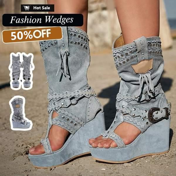 Women's Casual Wedge Sandals(Free Shipping)