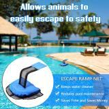 Animal saving escape ramp