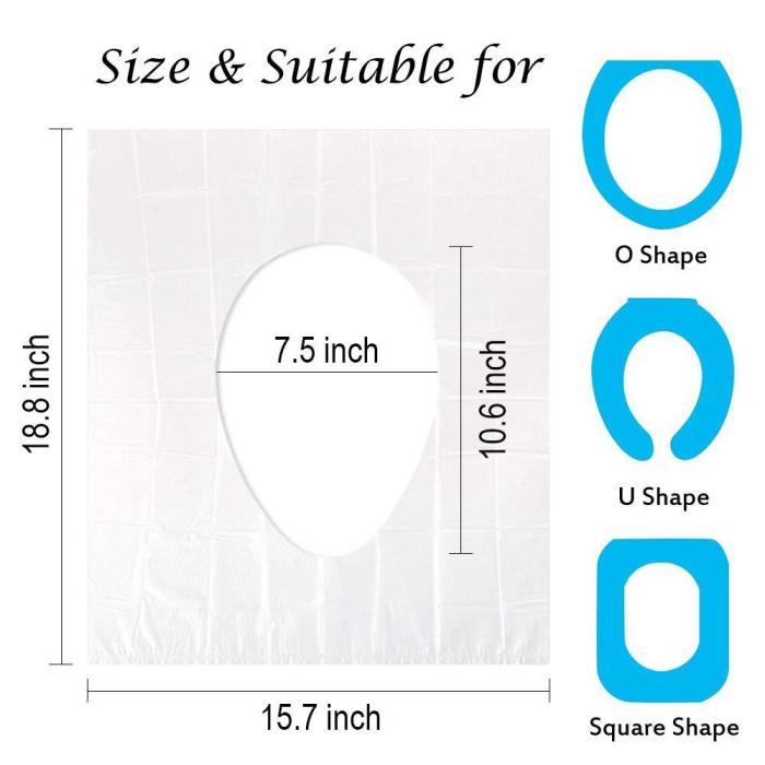 Biodegradable Disposable Plastic Toilet Seat Cover