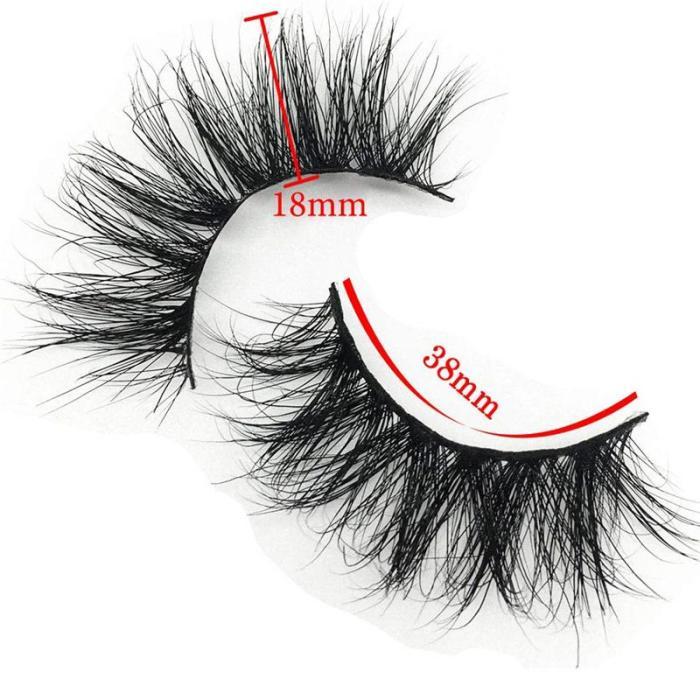 3D Mink Natural False Eyelashes