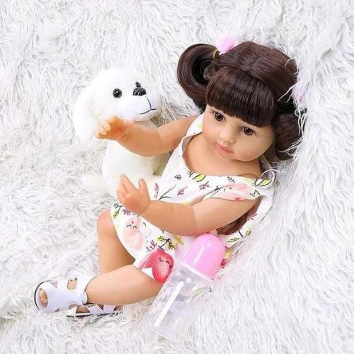 Lovely Toddlers 22 Inch Lifelike Silicone Full Body Doll