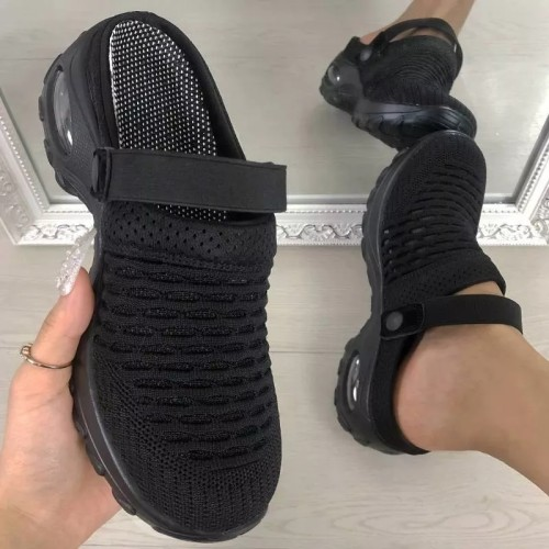 Women's Breathable casual air cushion slip-on shoes