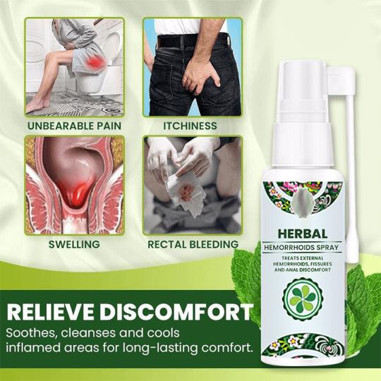 Natural Herbal Hemorrhoids Spray
