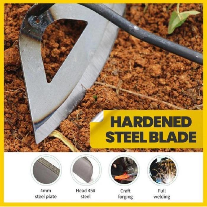 All-steel Hardened Hollow Hoe
