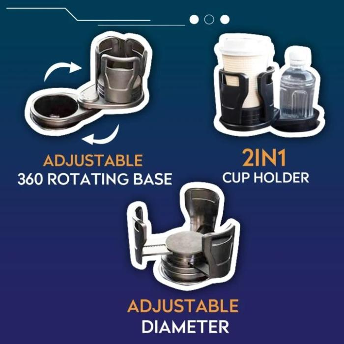 All Purpose Car Cup Holder And Organizer