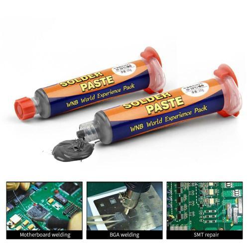 35g BGA Syringe Solder Paste Contains Lead Sn63/Pb37 Melting Point 183℃