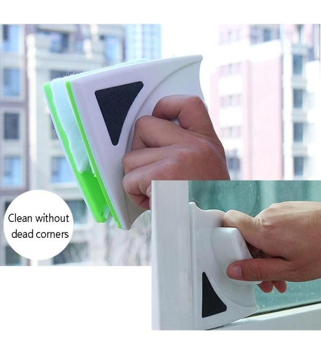 Double Side Glass Cleaning Brush Magnetic