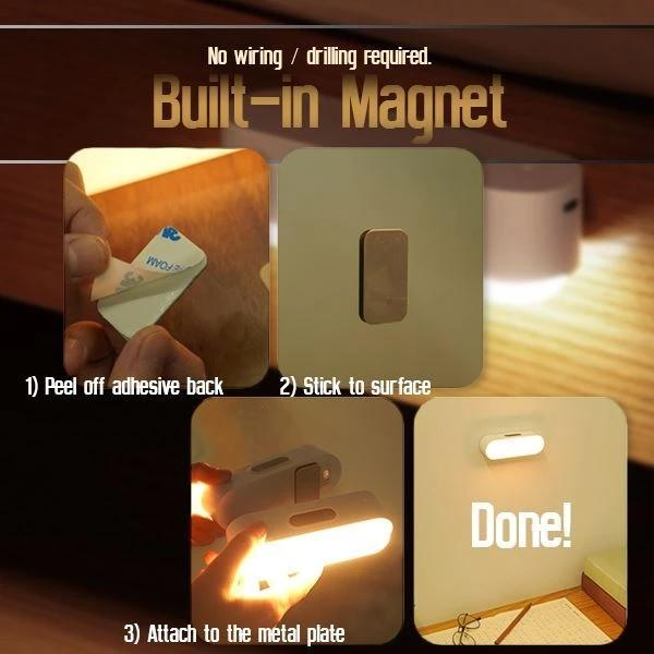 Magnetic Stepless Dimming Light